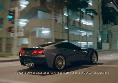 Corvette C7 sprawia inauguracyjne wygląd reklam w Chevy's first spot with new slogan