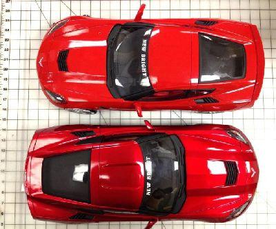 New Bright tworząc ekskluzywny skali 1:08 sterowany radiem Corvette C7
