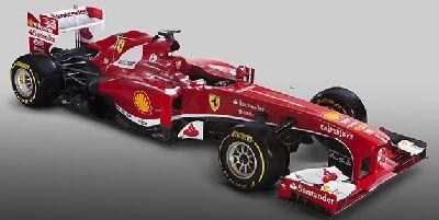 Scuderia Ferrari F138 zaprezentowany w Maranello